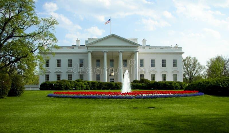 Het Washington DC van het Witte Huis royalty-vrije stock foto's