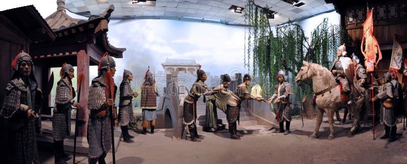 Het Wasmuseum over Chinese Geschiedenis stock fotografie