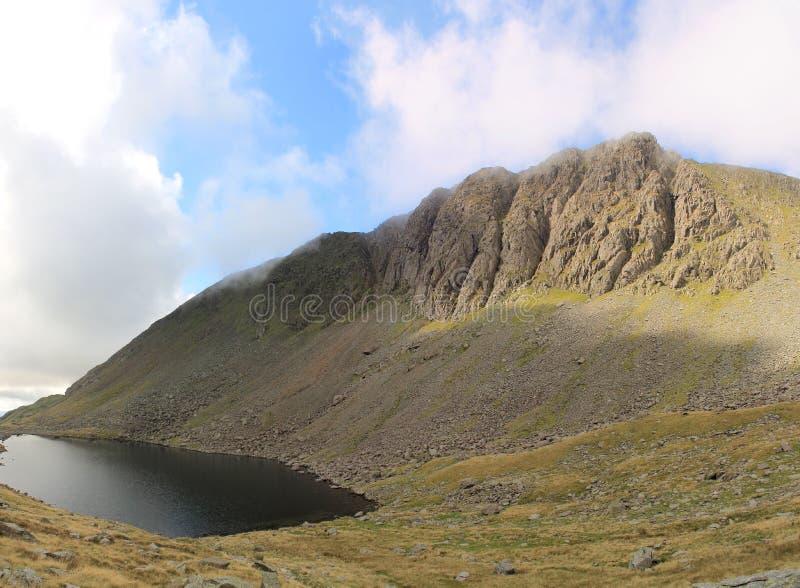 Het Water Cumbria van Dow Crag en van Geiten royalty-vrije stock fotografie