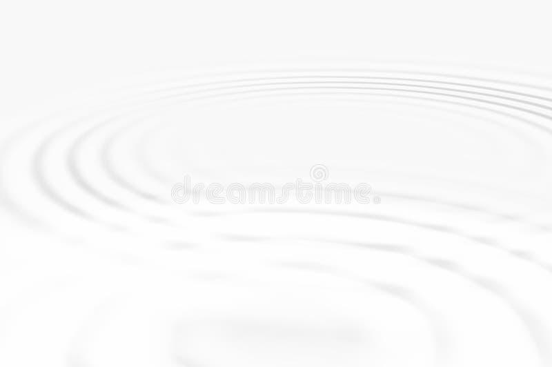 Het water golft wit royalty-vrije stock foto