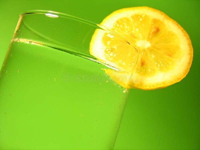 Het Water van de citroen royalty-vrije stock afbeelding