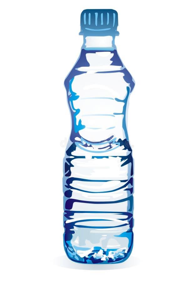 Het water van de fles vector illustratie