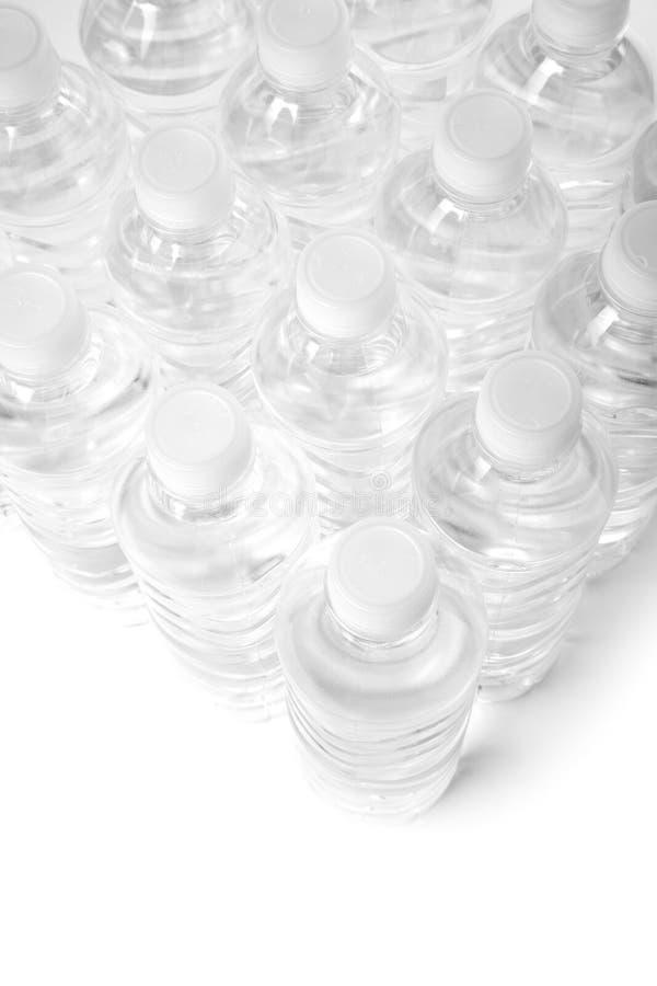 Het water van de fles royalty-vrije stock afbeelding