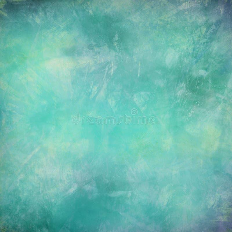 Het water van Grunge en veer geweven samenvatting vector illustratie