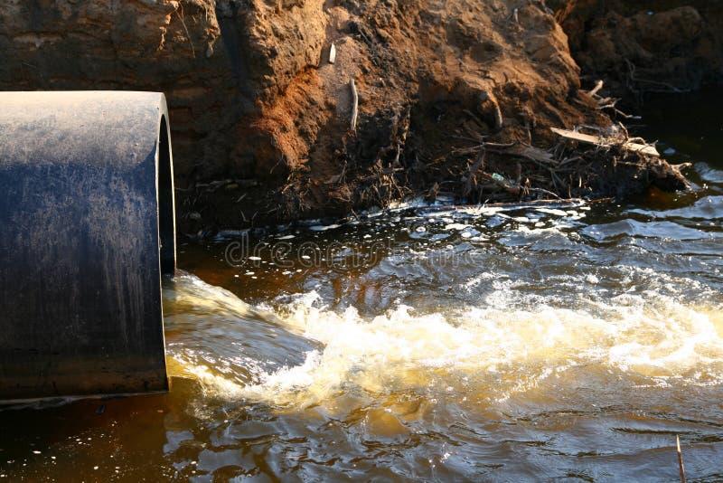 Het water van het gevaar stock afbeeldingen