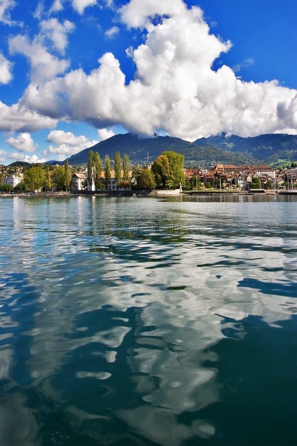 Het water van het meer. royalty-vrije stock fotografie