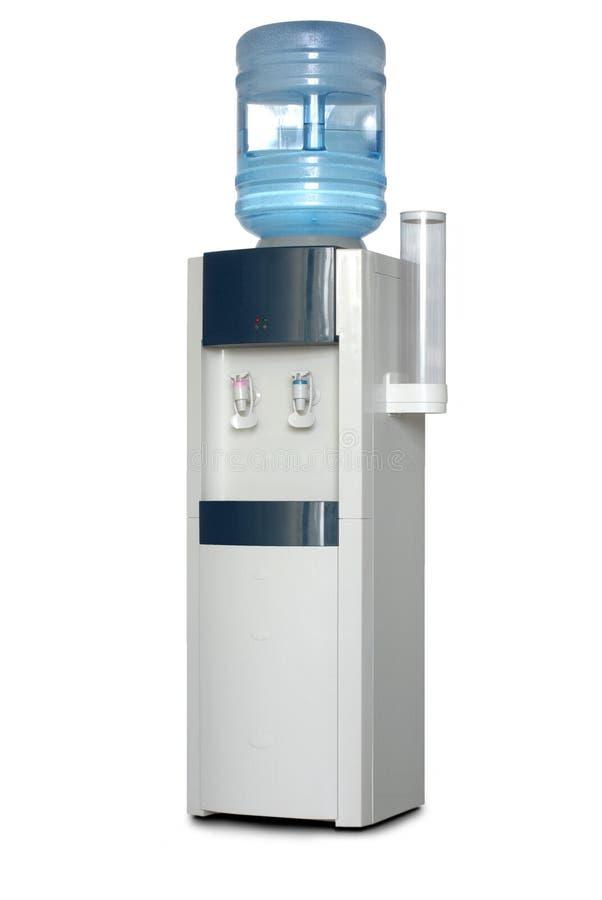 Het waterautomaat van het bureau. stock foto's