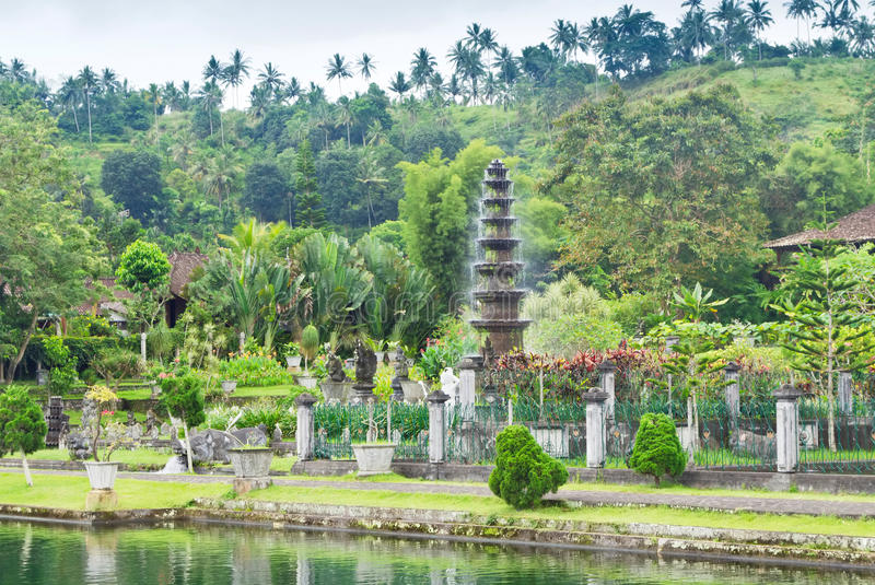 Het waterpaleis van Tirtagangga royalty-vrije stock foto