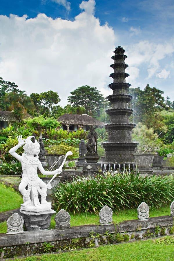 Het waterpaleis van Tirtagangga stock foto