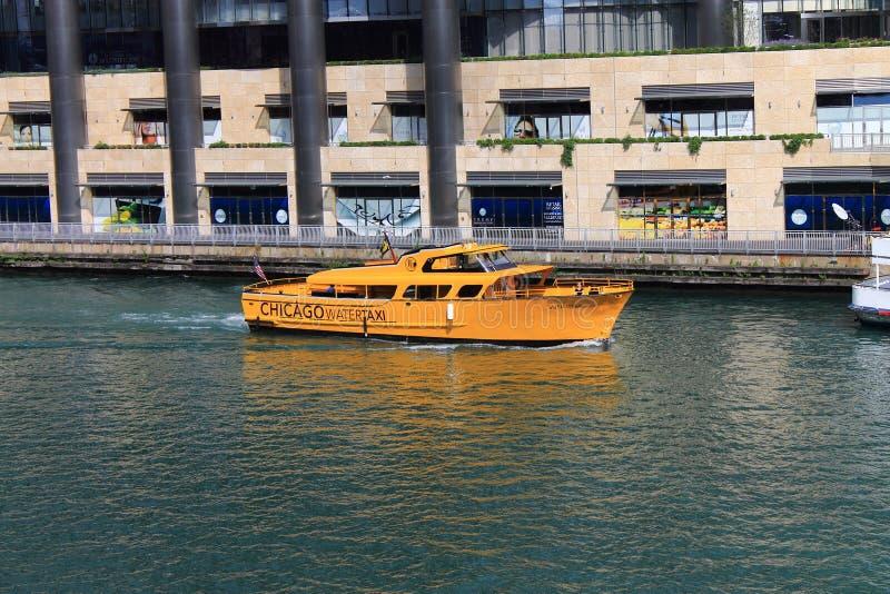 Het Watertaxi van Chicago royalty-vrije stock afbeelding