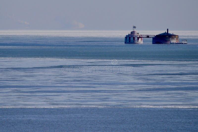 Het Watervoederbakken van de het noordenweg royalty-vrije stock afbeelding