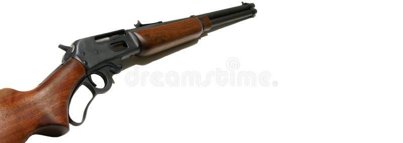 Het Webbanner van het geweer royalty-vrije stock afbeeldingen