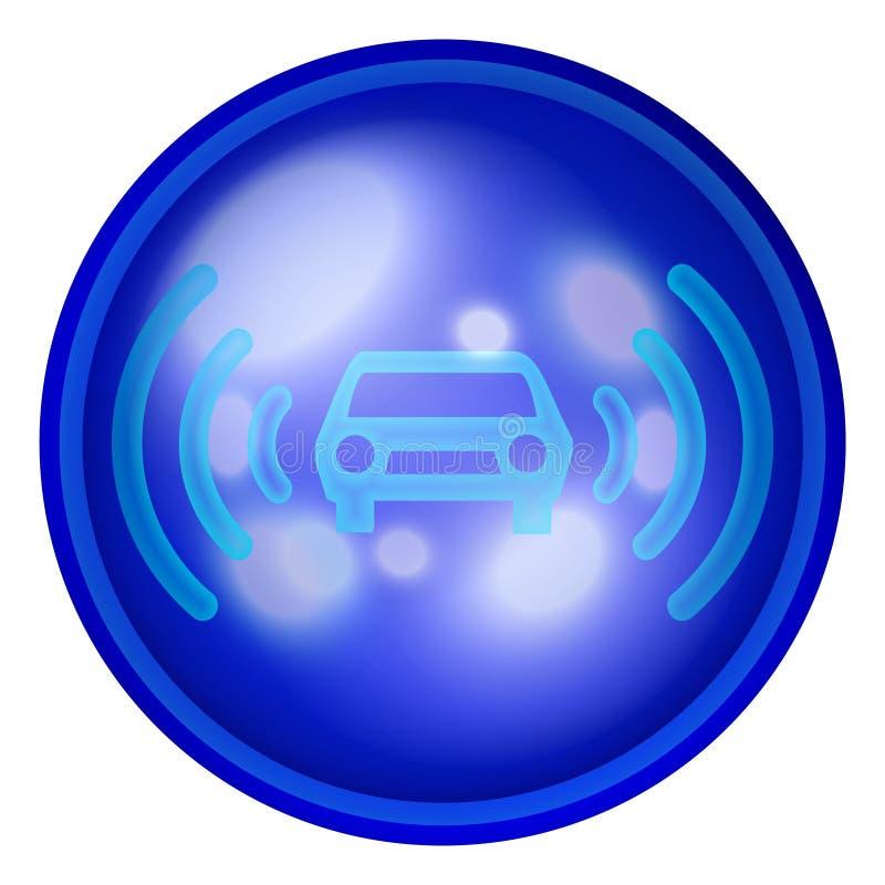 Het Webknoop van de auto royalty-vrije illustratie
