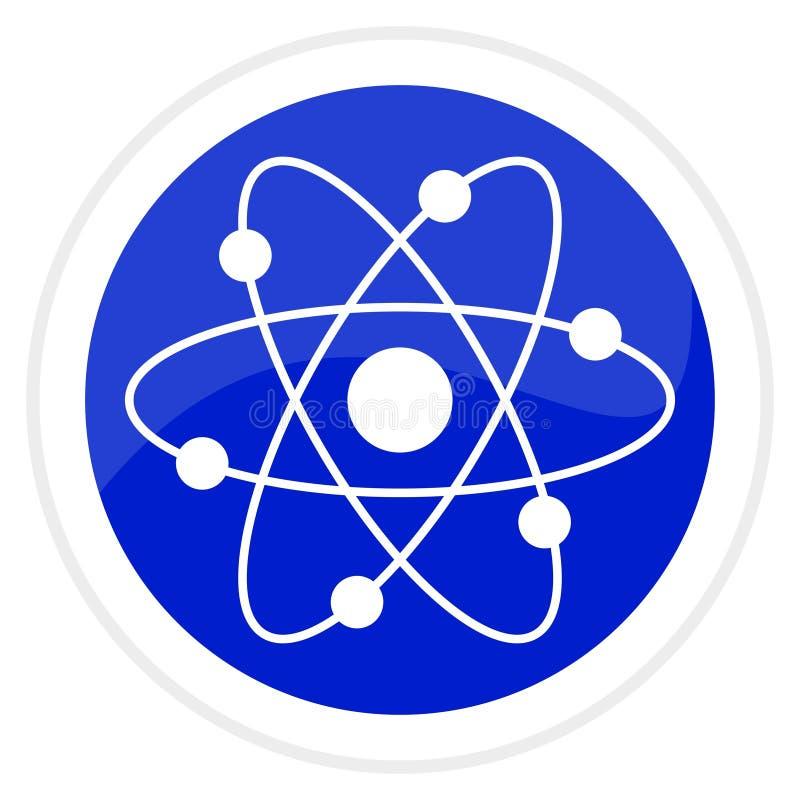 Het Webknoop van het atoom royalty-vrije illustratie