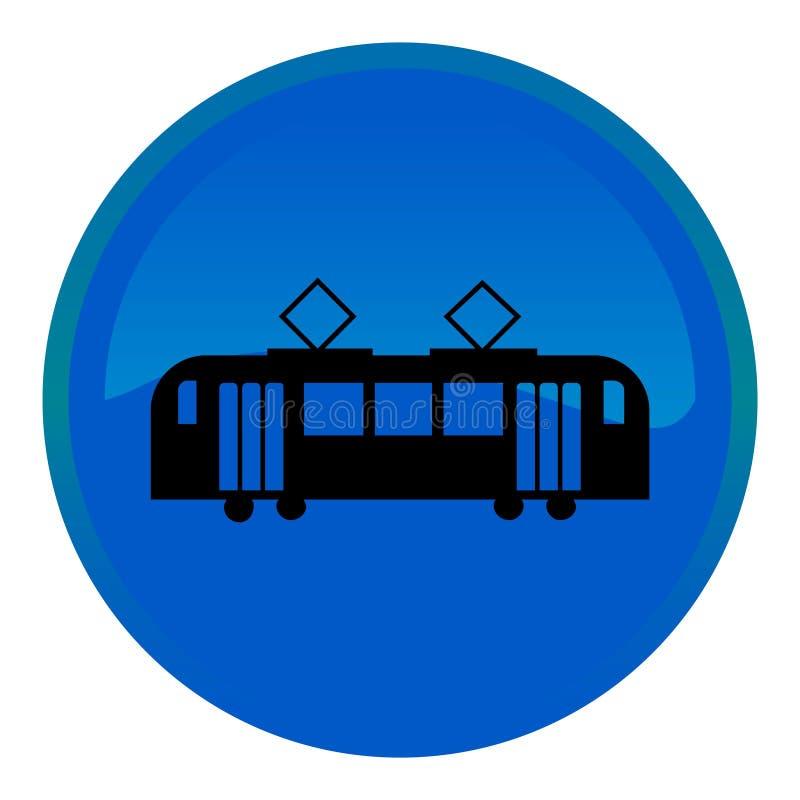 Het Webknoop van het tramspoor stock illustratie