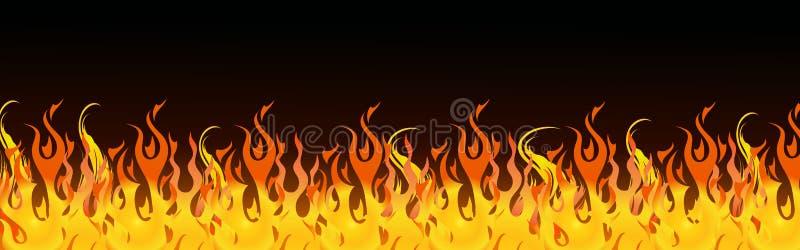 Het Webkopbal van vlammen