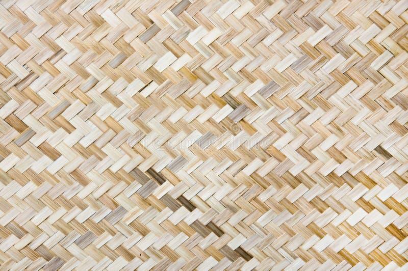 Het Weefsel Van Het Bamboe Royalty-vrije Stock Foto's