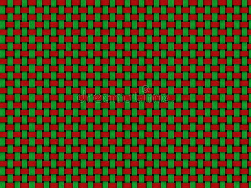 Het weefsel van Kerstmis vector illustratie