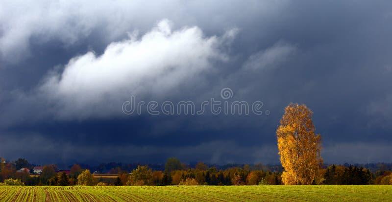Het weer van de herfst royalty-vrije stock fotografie