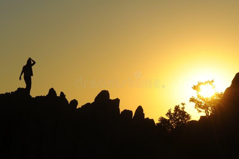 Het welkom heten voor de zon royalty-vrije stock afbeelding