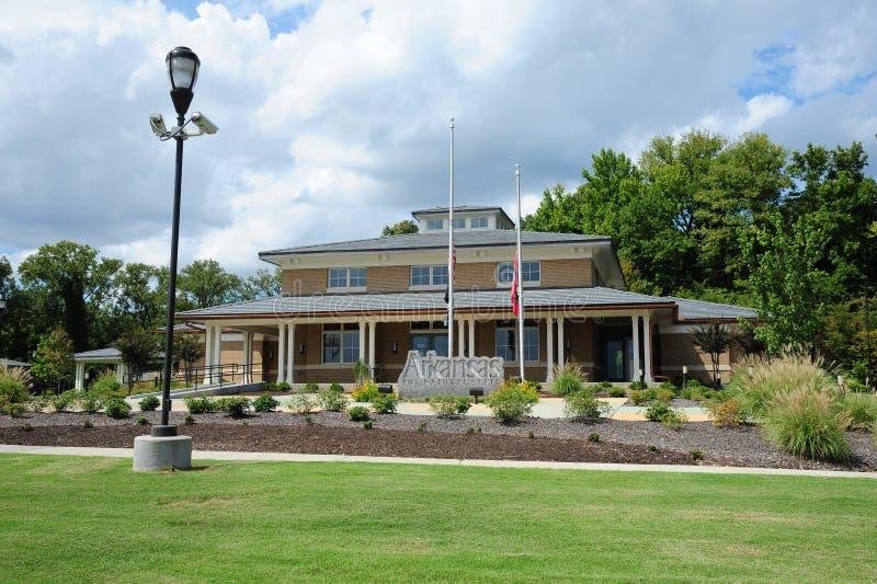 Het Welkome Centrum van Arkansas, Helena Arkansas stock afbeelding