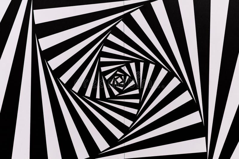 Het werk door Maurits Cornelis Escher bij een temporay tentoonstelling bij het Museum van Moderne Kunst in Napels - Madre wordt t stock afbeeldingen