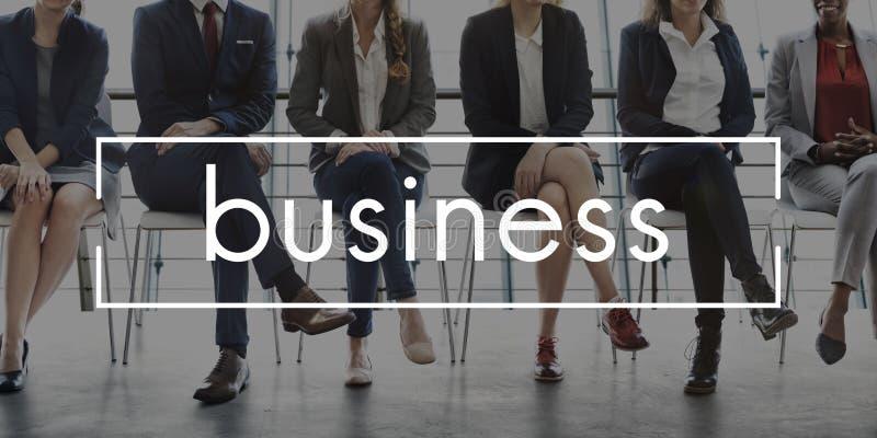 Het werk Team Business Career Concept royalty-vrije stock fotografie