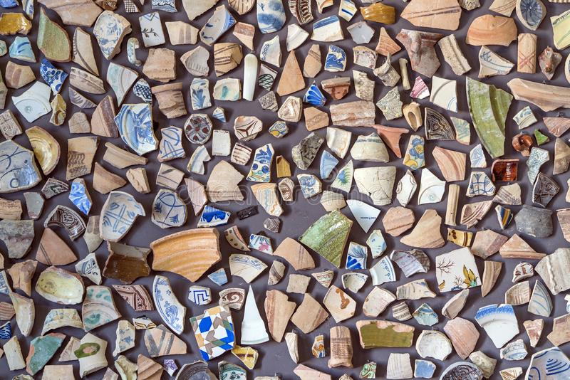 Het werk van aardewerkart. royalty-vrije stock foto's