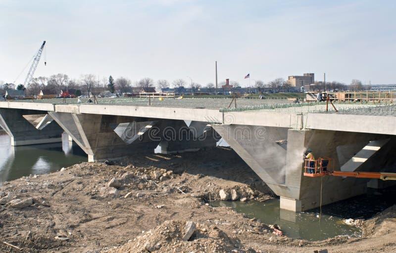 Het Werk van de brug royalty-vrije stock foto's