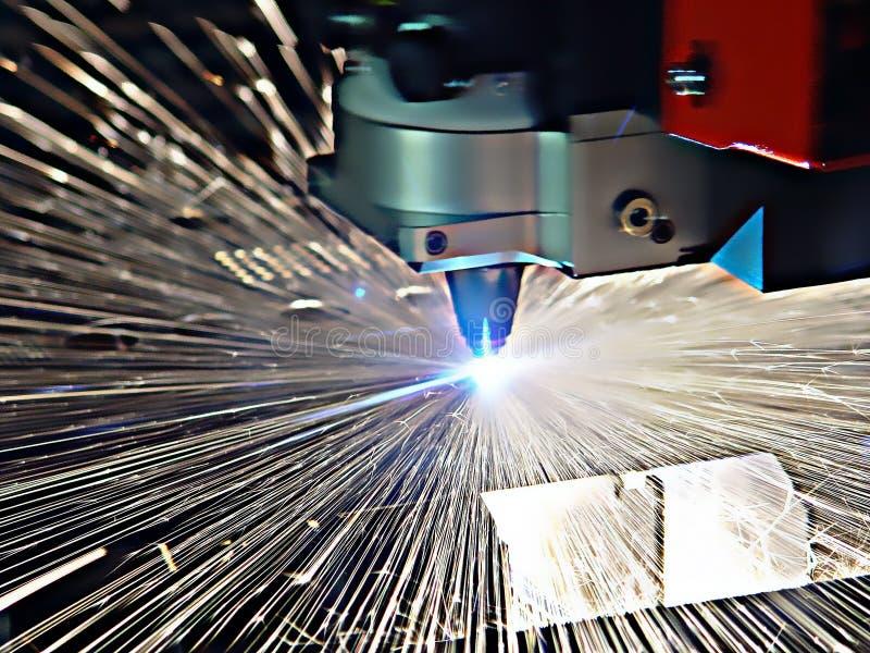 Het werk van de machine stock afbeelding
