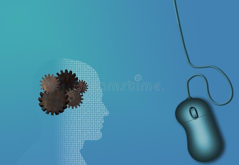Het werk van de technologie stock illustratie