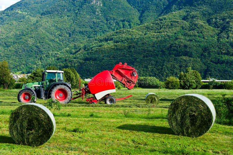 Het werk van het landbouwbedrijf stock fotografie