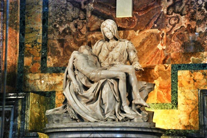 Het werk van Michelangelo stock foto's