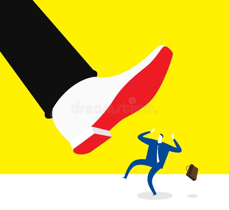 Het werkdruk stock illustratie