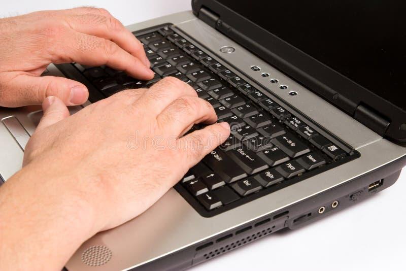 Het werken aan computer