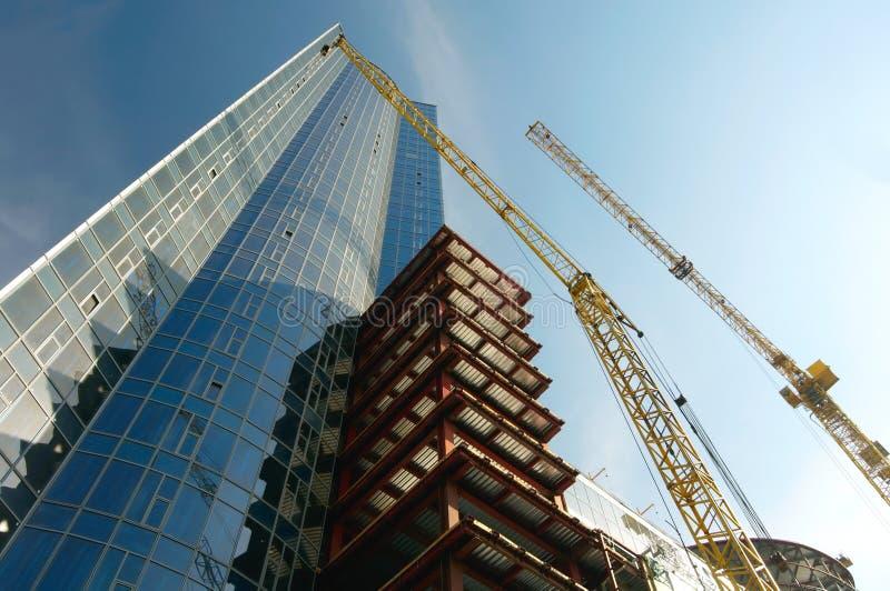 Het werkplaats van de bouw stock fotografie