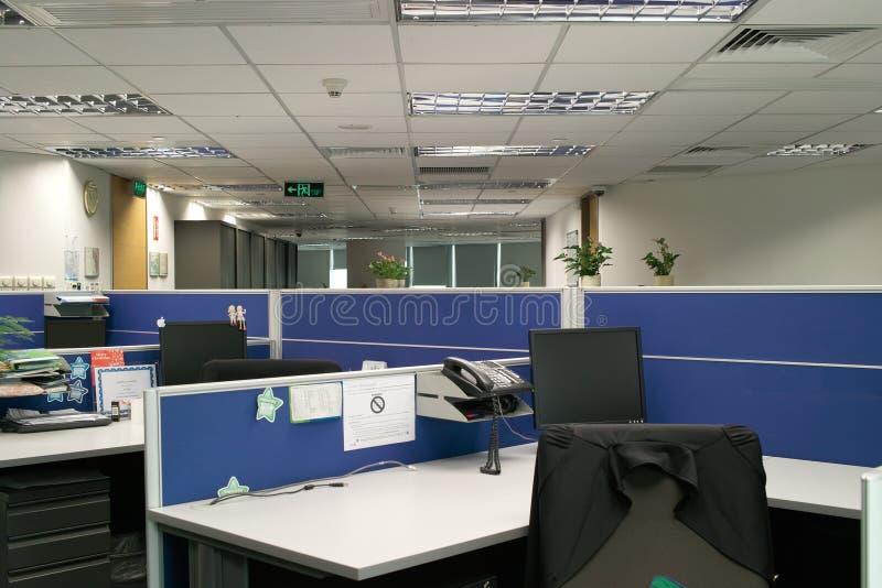 Het werkplaatsen van het bureau royalty-vrije stock foto's