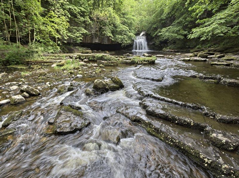 Het westen Burton Falls royalty-vrije stock fotografie