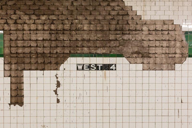 Het westen 4 NYC royalty-vrije stock afbeelding