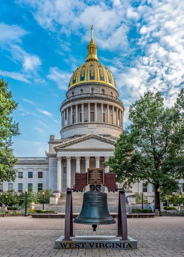 Het westen Virginia State Capitol in Charleston stock fotografie