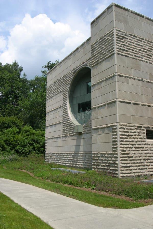 Het westenbeëindigen van Ives Hall in Cornell University royalty-vrije stock foto's