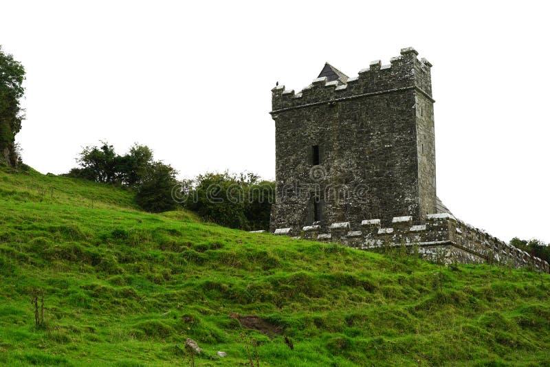 Het westengezicht van Kluizenaarcel in oud Ierland royalty-vrije stock foto's