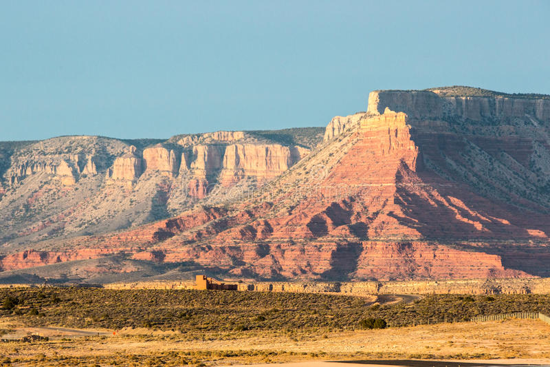 Het westenrand van Grand Canyon, Arizona stock afbeelding