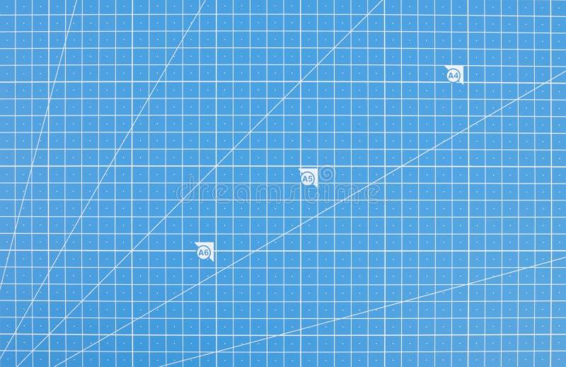 Het wetenschappelijke document van het technieknet Blauwdrukachtergrond stock fotografie