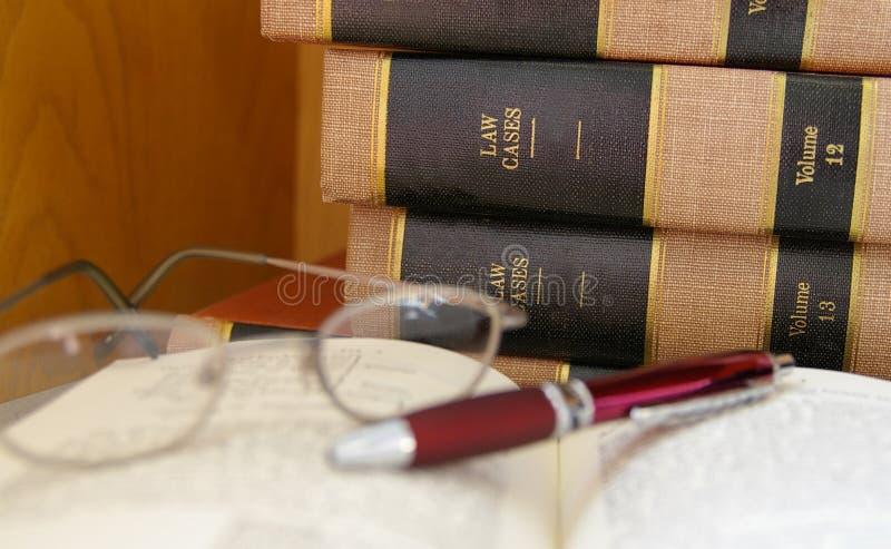 Het wettelijke werk stock fotografie