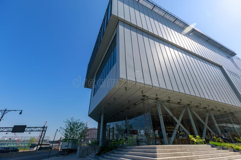 Het Whitney-museum van Amerikaanse kunst in de Stad van New York royalty-vrije stock foto