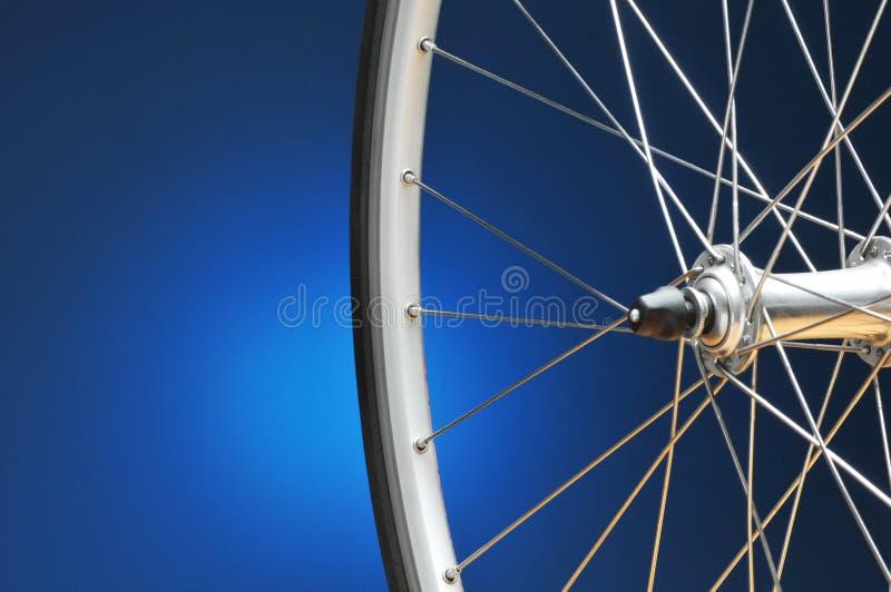 Het Wiel van de fiets stock foto