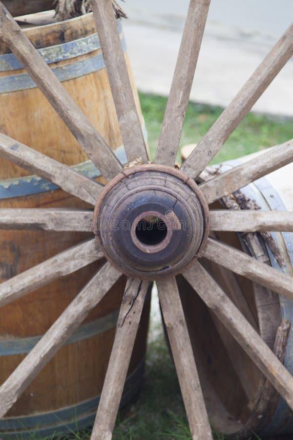 Het Wiel van de kar stock afbeeldingen