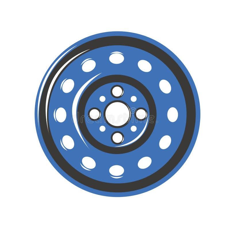 Het wiel van het autoijzer stock foto's