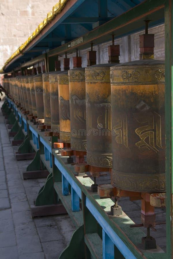 Het Wiel van het gebed stock fotografie